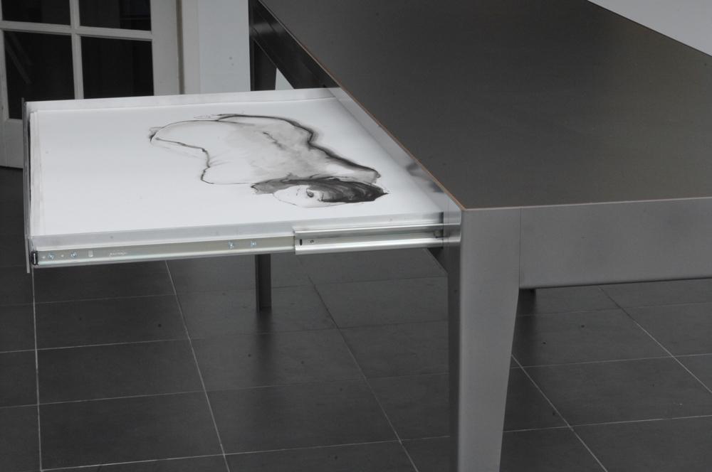 Tafel ag prentenlade detail